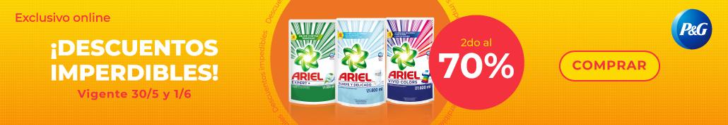 Ariel - Detergentes y Jabones