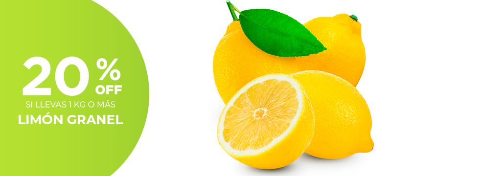 20% en Limon a Granel