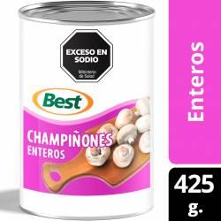 Champignones Enteros Best x 425 g.