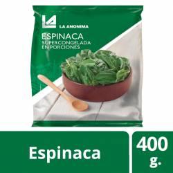 Espinaca Súper La Anónima x 400 gr.