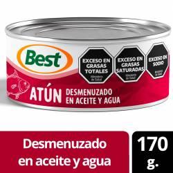 Atún en Aceite Best Desmenuzado x 170 g.