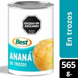 Ananá en Trozos Best x 565 g.