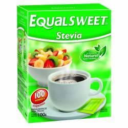 Endulzante Sobres Stevia Equalsweet x 100 un.