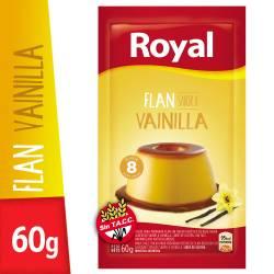Flan de Vainilla Royal x 60 g.