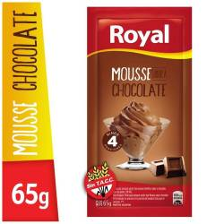 Postre para Prep. Mousse Chocolate Royal x 65 g.
