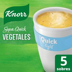 Sopa Knorr Vegetales Light Quick x 52 g.