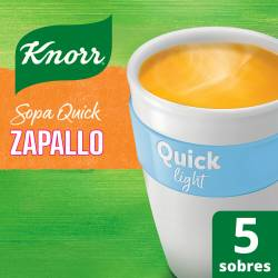 Sopa Knorr Zapallo Light Quick x 50 g.