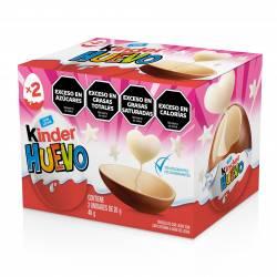 Huevo de Chocolate con Sorpresa Kinder Rosa x 40 g.