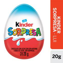Huevo de Chocolate con Sorpresa Kinder Jungle Truck x 20 g.