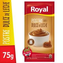 Postre en Polvo Dulce de Leche Royal x 75 g.
