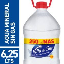 Agua de Mesa Villa del Sur x 6,25 lt.