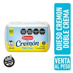 Queso Cremoso Cremón Doble Crema Fraccionado La Serenísima x 1 kg.