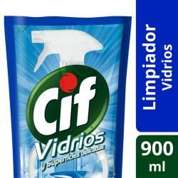 Limpiador Líquido Vidrio Cif x 900 cc.