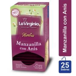 Té en Saquitos Manzanilla con Anís La Virginia x 25 un.