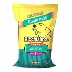 Alimento para Perros Carne Rinde+ Ricchisimo x 8 kg.