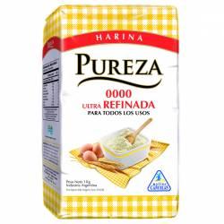 Harina de Trigo 0000 Ultra Refinada Pureza x 1 kg.