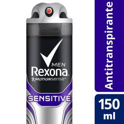 Antitranspirante Aerosol Rexona Sensitive x 150 cc.