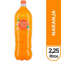 Agua sin gas Aquarius Naranja x 2,25 lt.