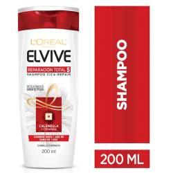 Shampoo Elvive Reparación Total 5 x 200 cc.