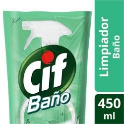Limpiador Líquido Baño Cif Doy Pack x 450 cc.