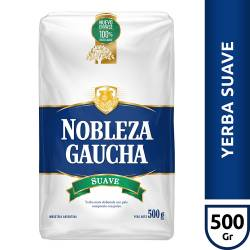 Yerba Mate con Palo Suave Nobleza Gaucha x 500 g.