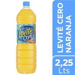 Agua sin gas Levité Cero Naranja x 2,25 lt.