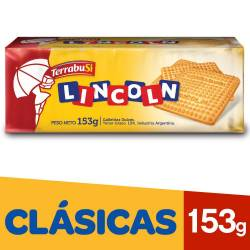 Galletitas Dulces Lincoln x 153 g.