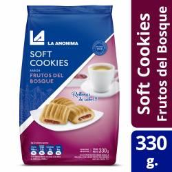 Galletitas Cookies Frutos del Bosque La Anónima x 330 g.