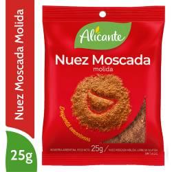 Nuez Moscada Molida Alicante x 25 g.