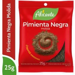 Pimienta Negra Alicante Molida x 25 g.