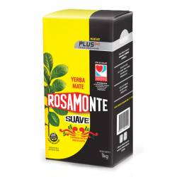 Yerba Mate con Palo Suave Plus Rosamonte x 1 Kg.