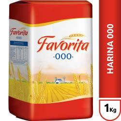 Harina de Trigo 000 Favorita x 1 Kg.