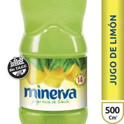 Jugo Concentrado de Limón Minerva x 500 cc.