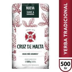 Yerba Mate con Palo Cruz de Malta x 500 g.