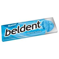 Chicles Beldent Menta Suave x 10 g.