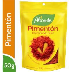 Pimentón Dulce Seleccionado Alicante x 50 g.
