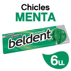 Chicles Beldent Menta x 10 g.