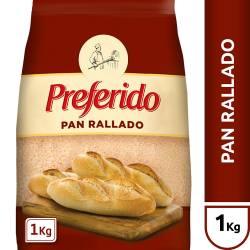 Pan Rallado Preferido x 1 kg.