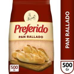 Pan Rallado Preferido x 500 g.