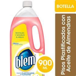 Limpiador Líquido para Pisos Blem Pisos plásticos y flotantes x 900 cc.