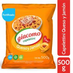Capelettinis Fortificado Queso y Jamón Giacomo x 500 g.