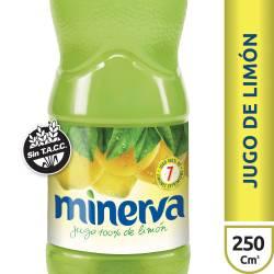 Jugo Concentrado de Limón Minerva x 250 cc.