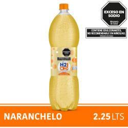 Agua con gas H2Oh Naranchelo x 2,25 lt.
