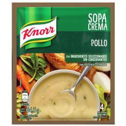 Sopa Crema Knorr Pollo x 64 g.
