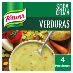 Sopa Crema Knorr Verduras x 60 g.