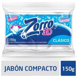 Jabón en Pan Blanco Zorro Esferas Activas x 150 g.