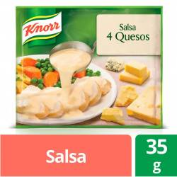 Salsa Knorr 4 Quesos x 35 g.