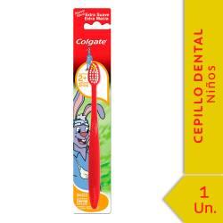 Cepillo Dental Colgate Infantil +2 años x 1 un.