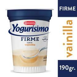 Yogur Firme Fortificado Yogurísimo Vainilla x 190 g.