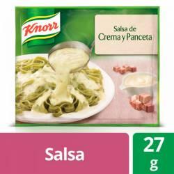 Salsa Knorr Crema y Panceta x 27 g.